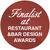 Finalist at Restaurant and Bar Design Awards